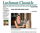 Featured in the Larchmont Chronicle